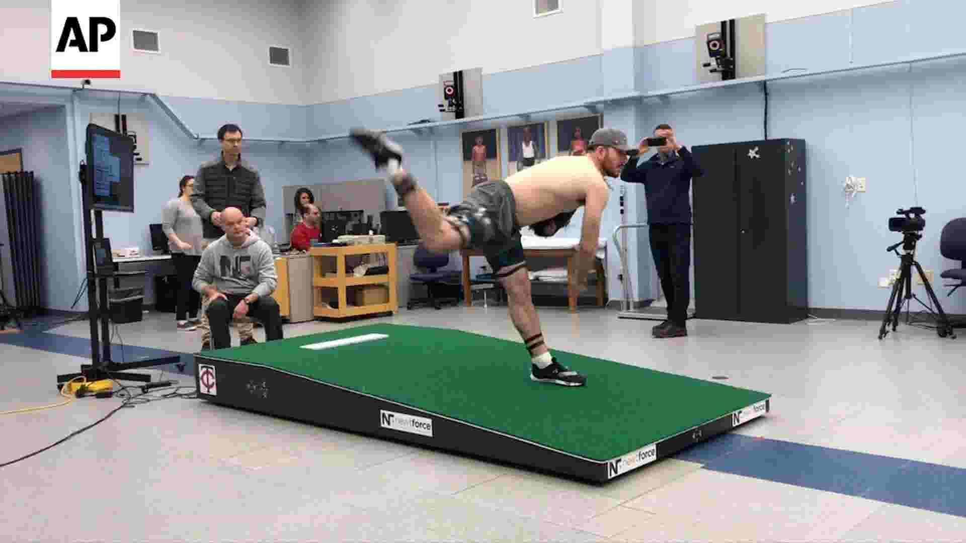 'Smart mound' helps analyze pitchers' efficiency