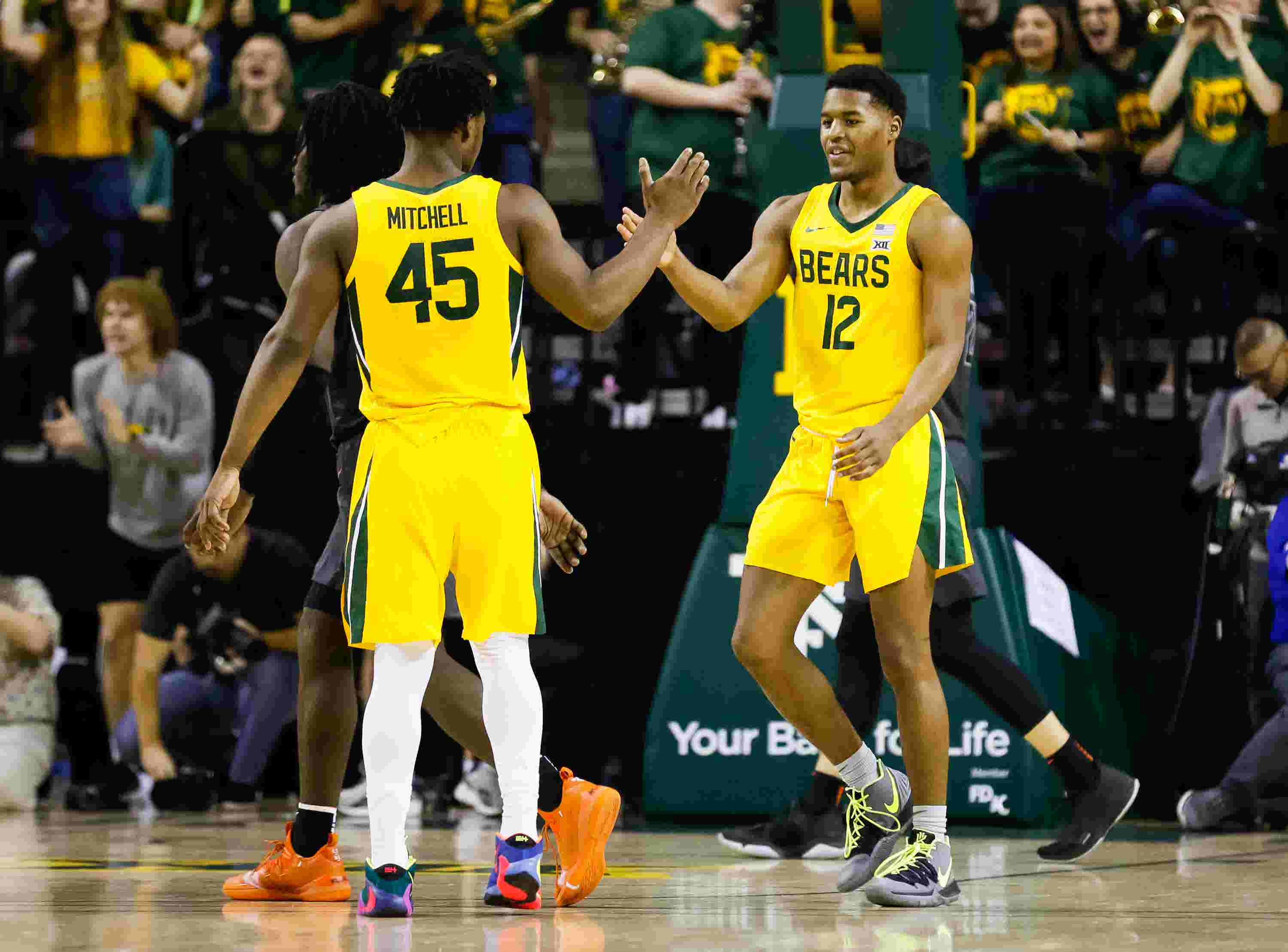 Baylor continues hold on No. 1 spot in USA TODAY Sports men's basketball poll