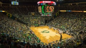 College basketball court designs taken to new level with local flavor