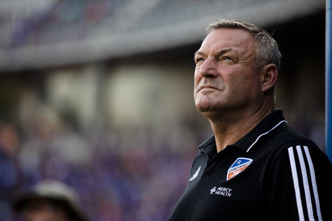 FC Cincinnati head coach Ron Jans will step away from the team while he is being investigated.