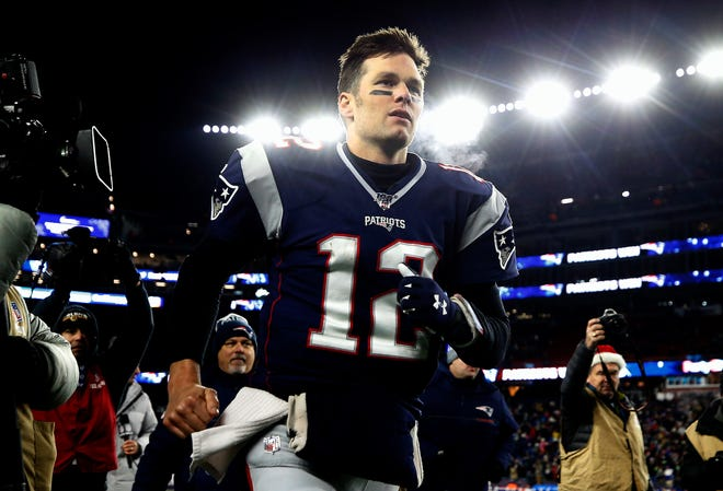 Tom Brady a free agent for the first time in his career.