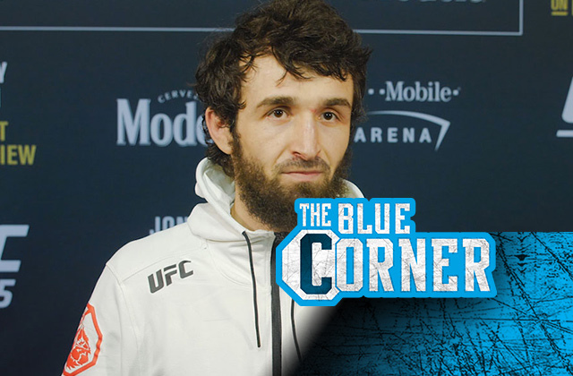 UFC's Zabit Magomedsharipov spars with goat during COVID-19 lockdown
