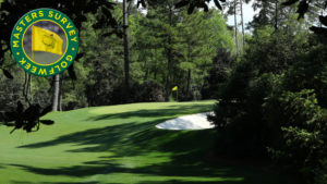 What's the scariest downhill putt at Augusta National?