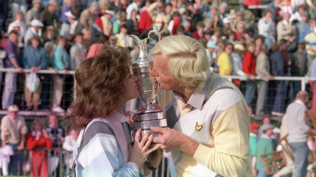 Claret Jug from Greg Norman's Open 1986 win up for auction