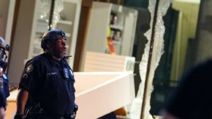 College Football Hall of Fame damaged during protests in Atlanta