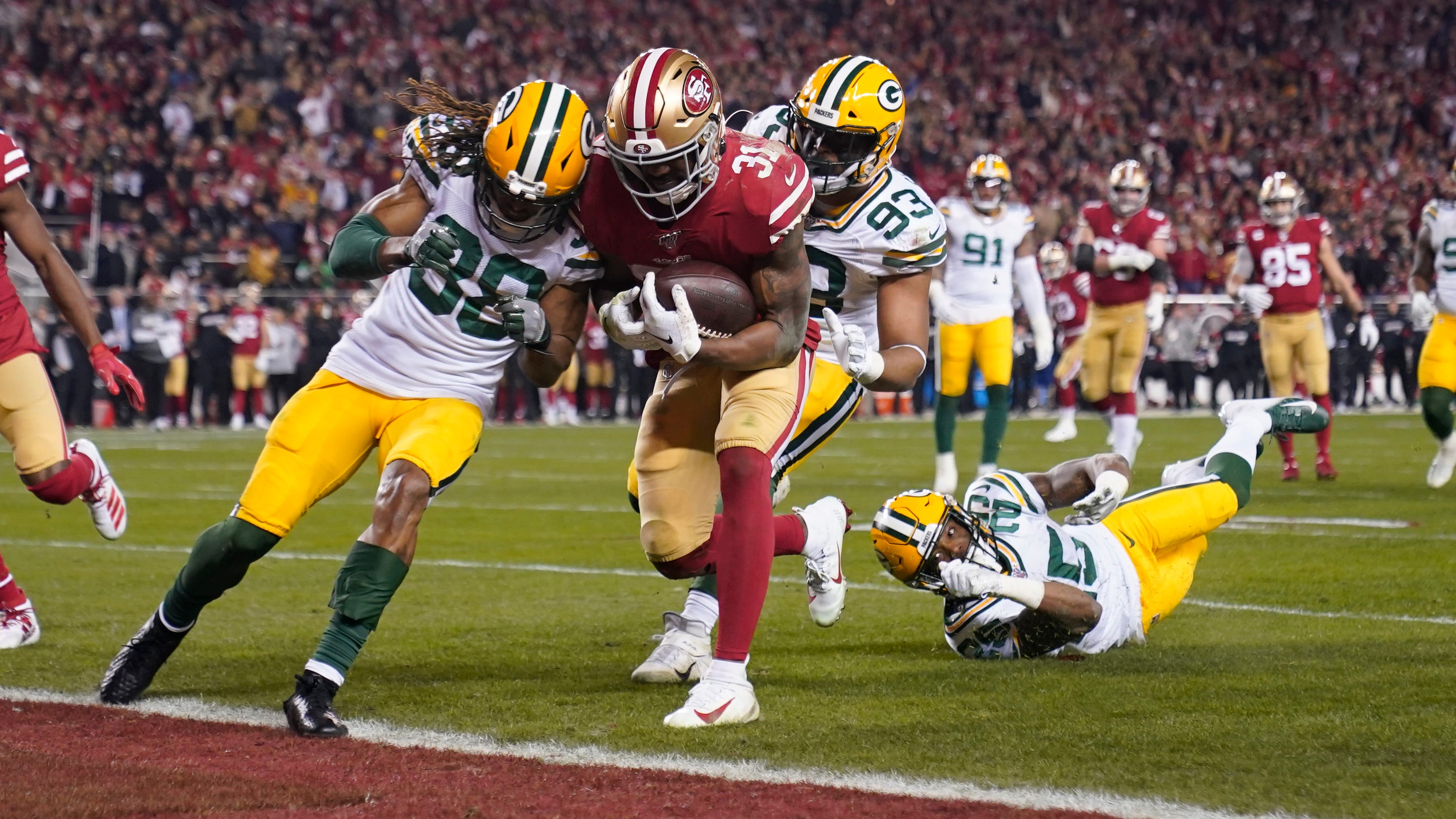 Defense looks for answers after collapse vs. 49ers