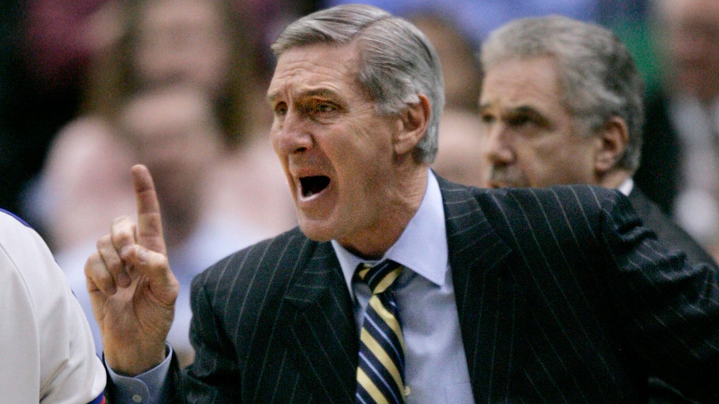 Jerry Sloan, former Jazz coach, was featured in 'The Last Dance' for his memorable NBA Finals moments