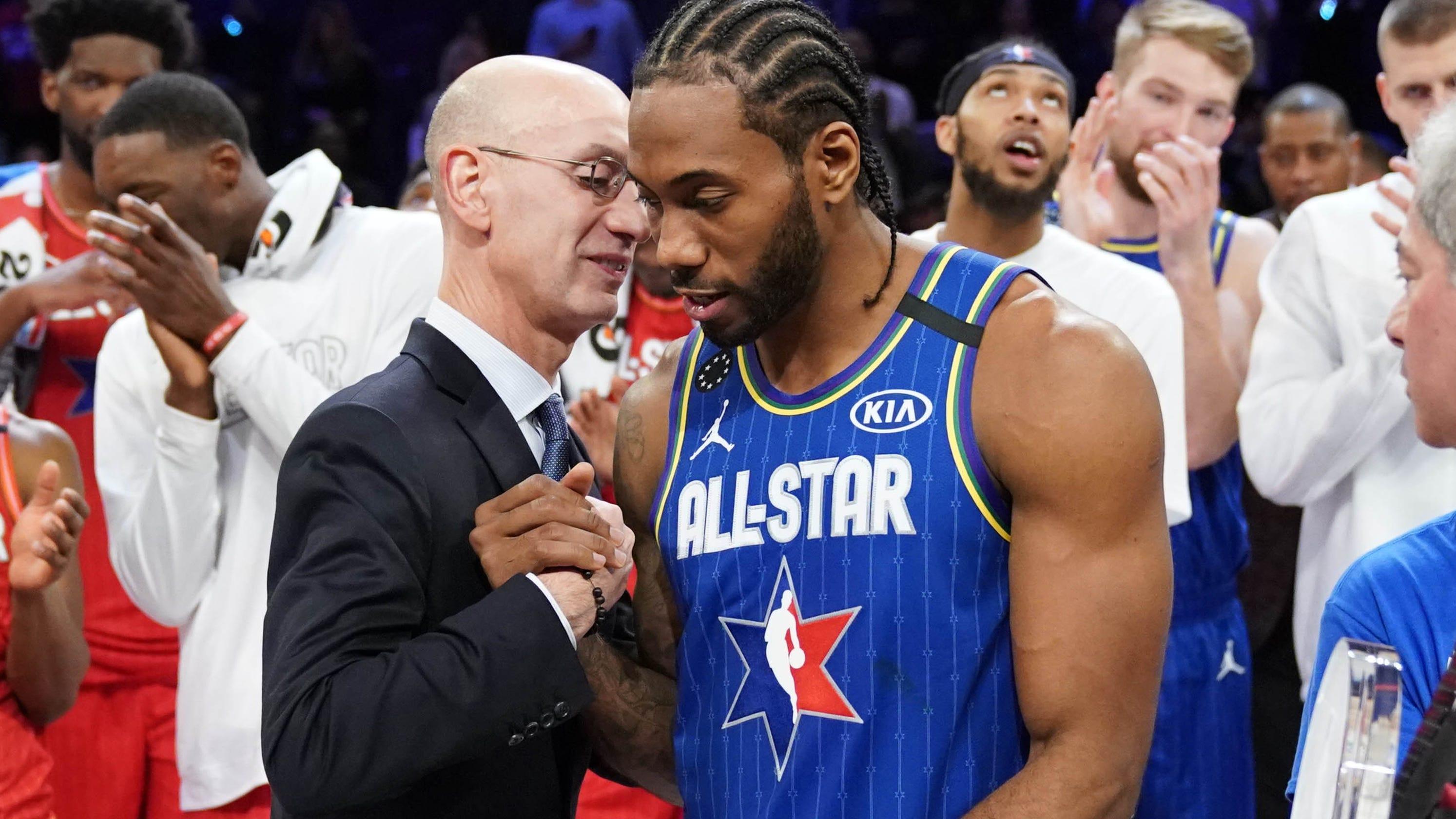 NBA, Disney discussing plan to resume season in July at Florida site