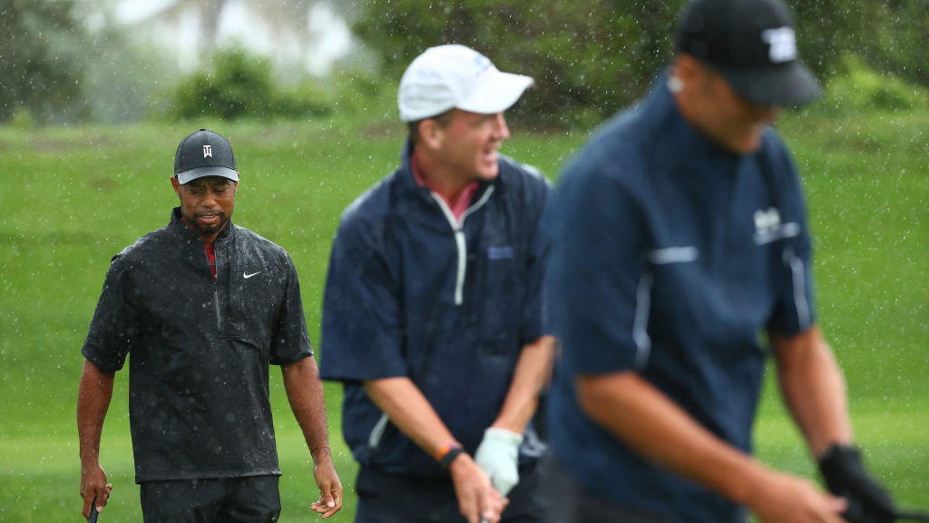 Tiger Woods and Co. deliver comedy, drama at 'Match II'