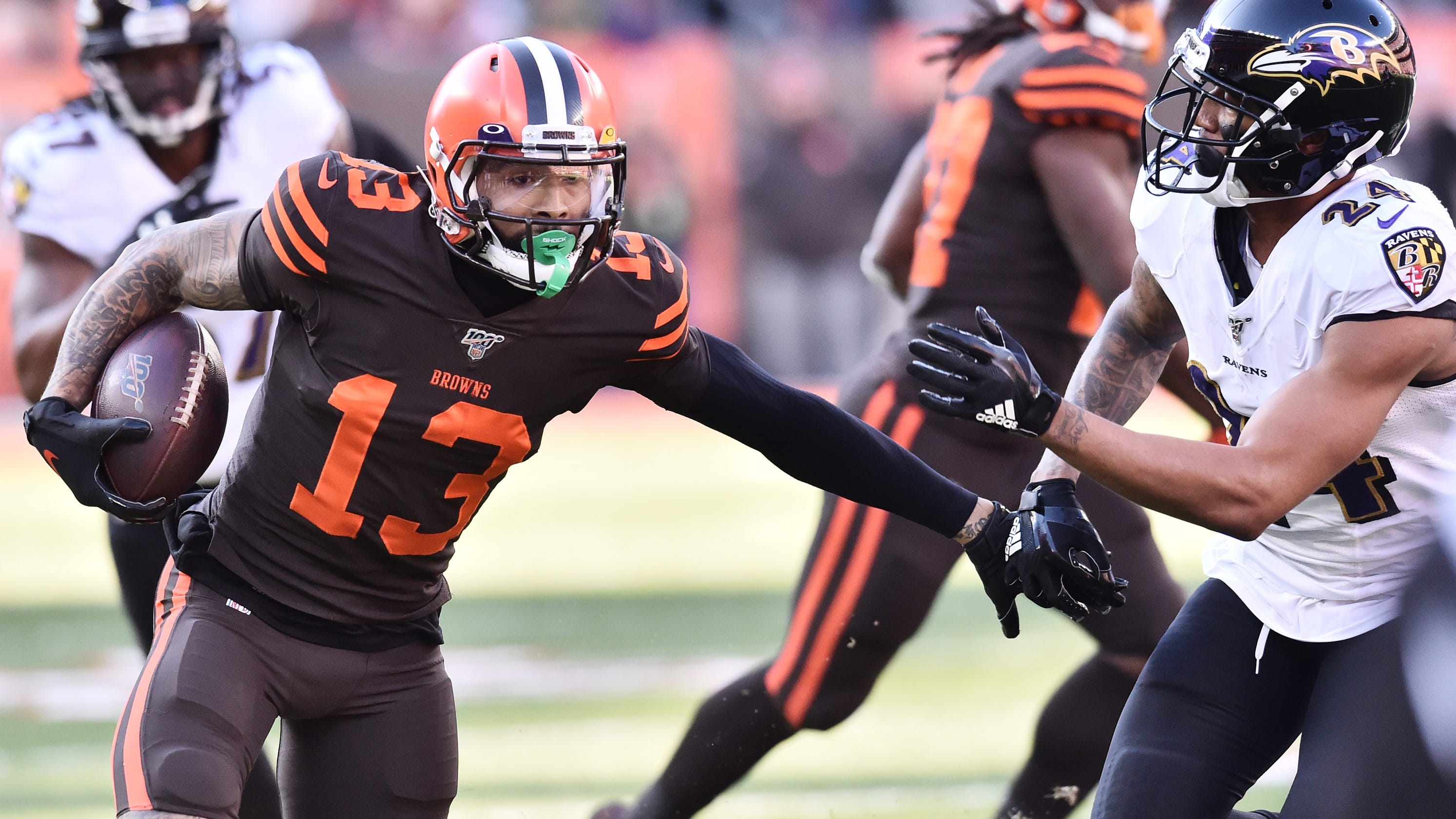 Browns WR is healthy, coach Kevin Stefanski says
