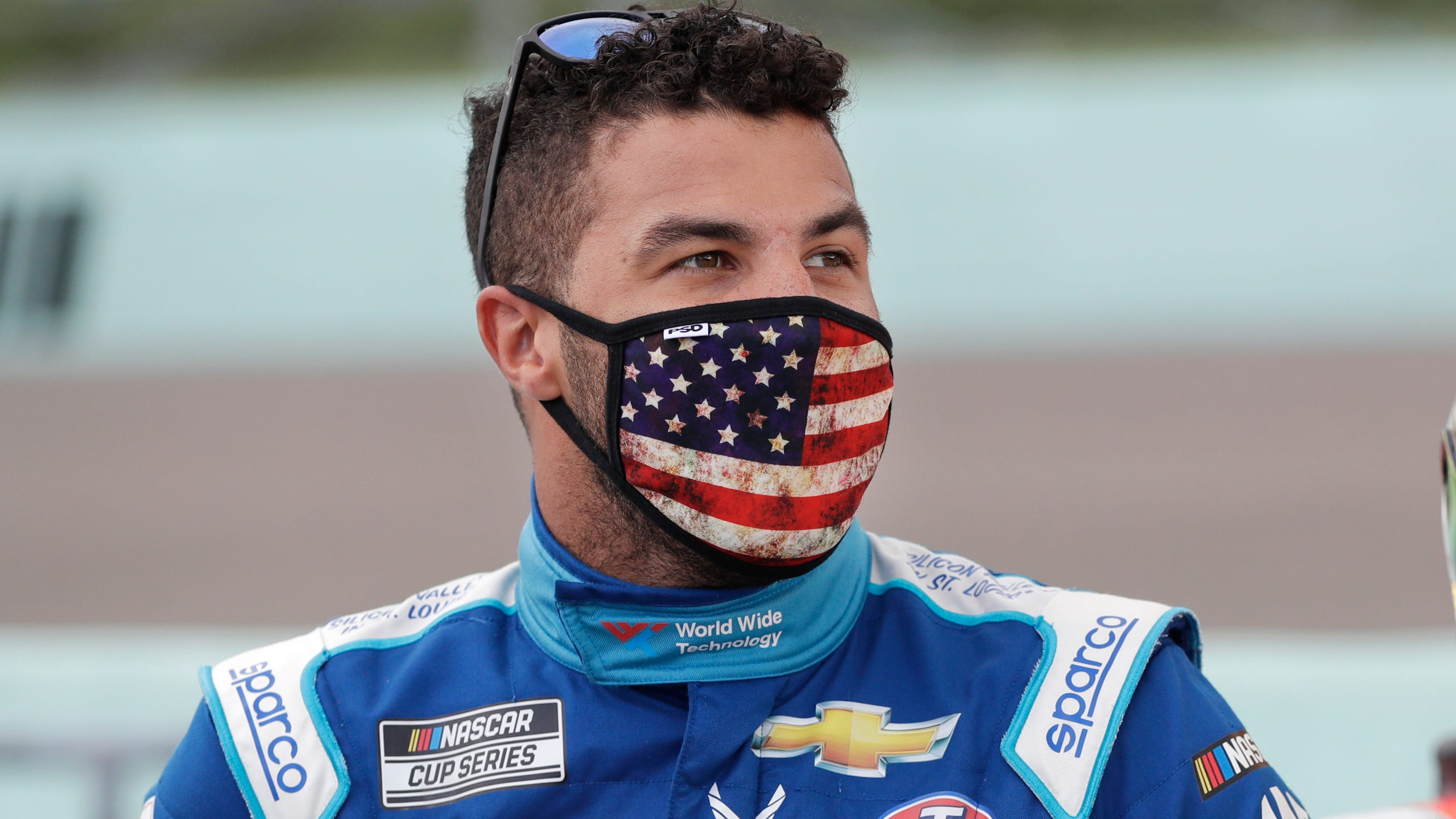 Bubba Wallace says he's exhausted after noose incident at Talladega