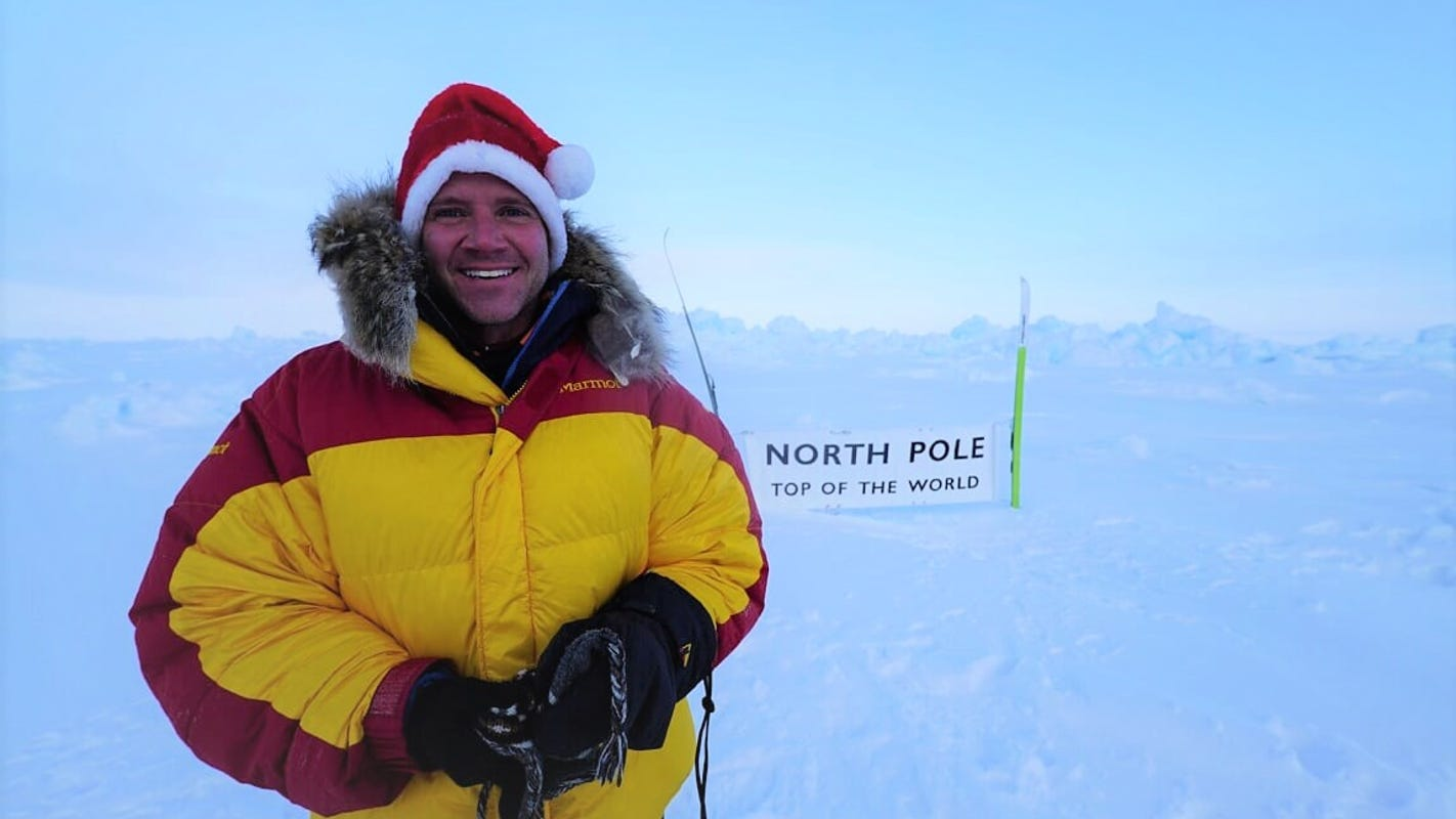 From Mount Everest to North Pole, Ohio 'cancer climber' inspires