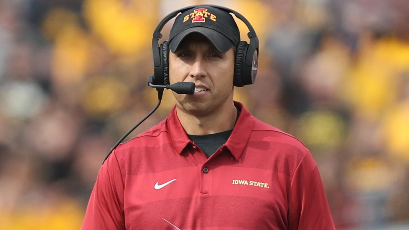 Iowa State cut football staff salaries, so coach Matt Campbell is covering some of the losses for his assistants