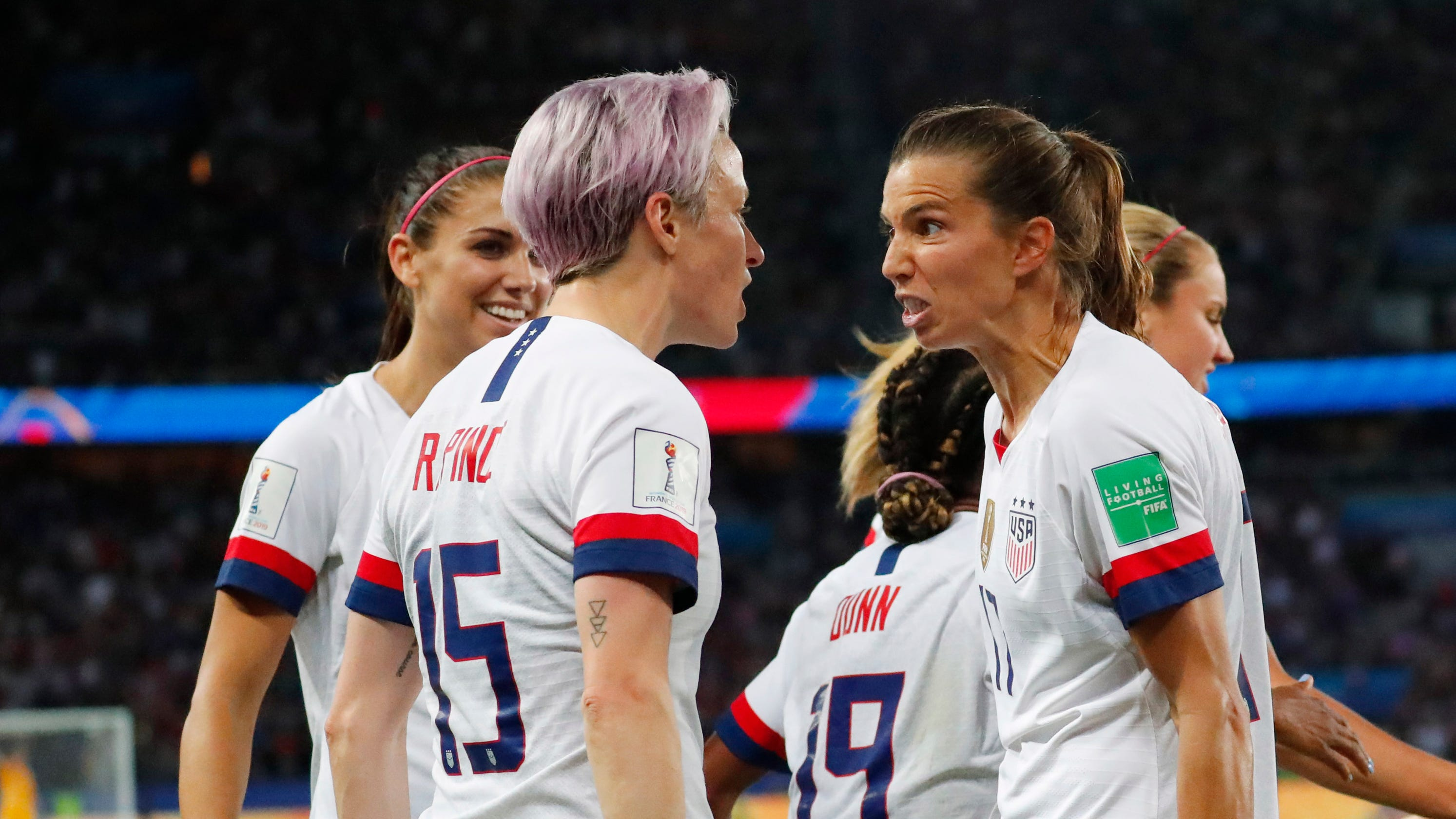 Megan Rapinoe, Tobin Heath, Christen Press out of NWSL Challenge Cup