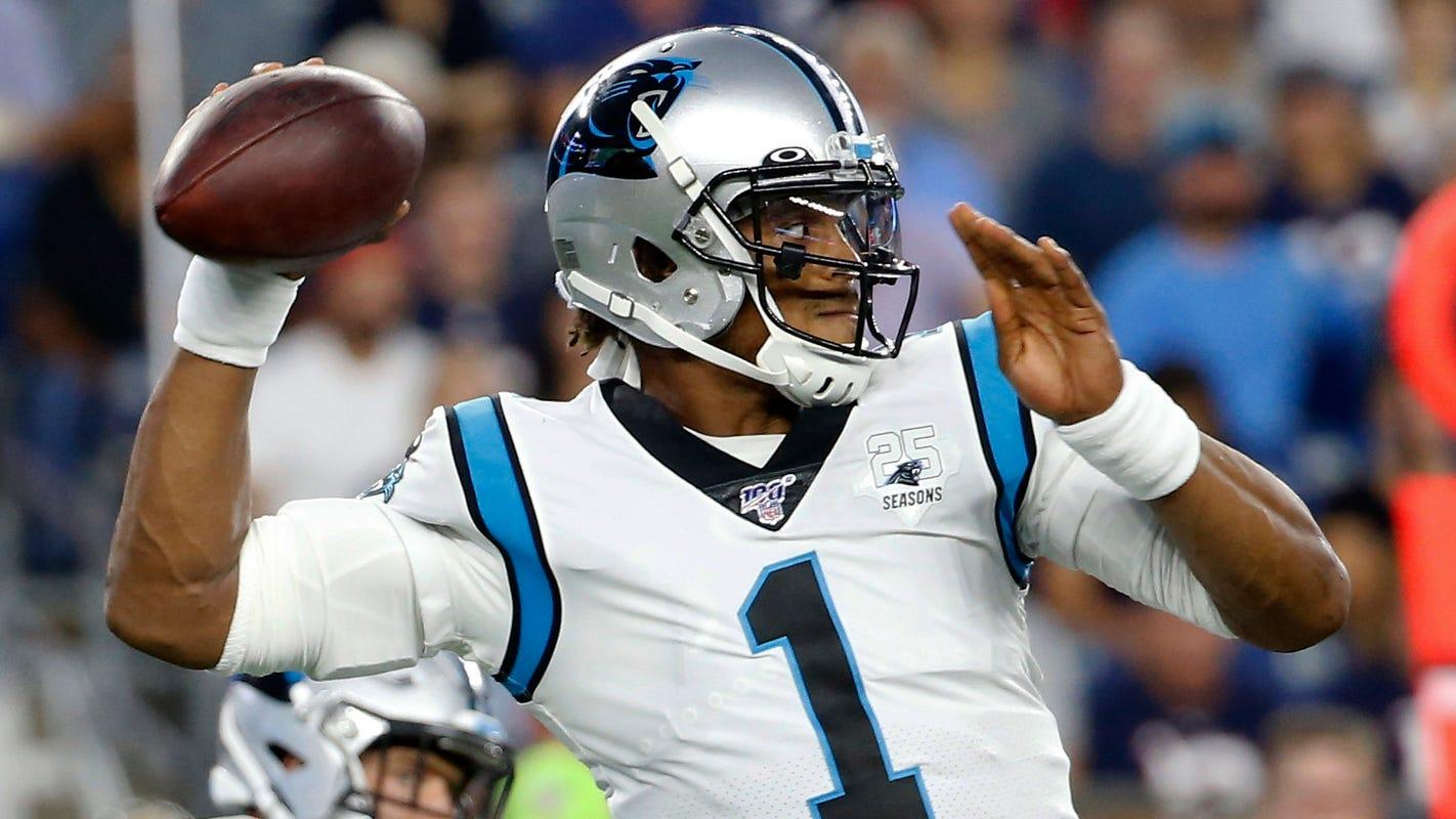 New England Patriots to sign former Carolina Panthers QB