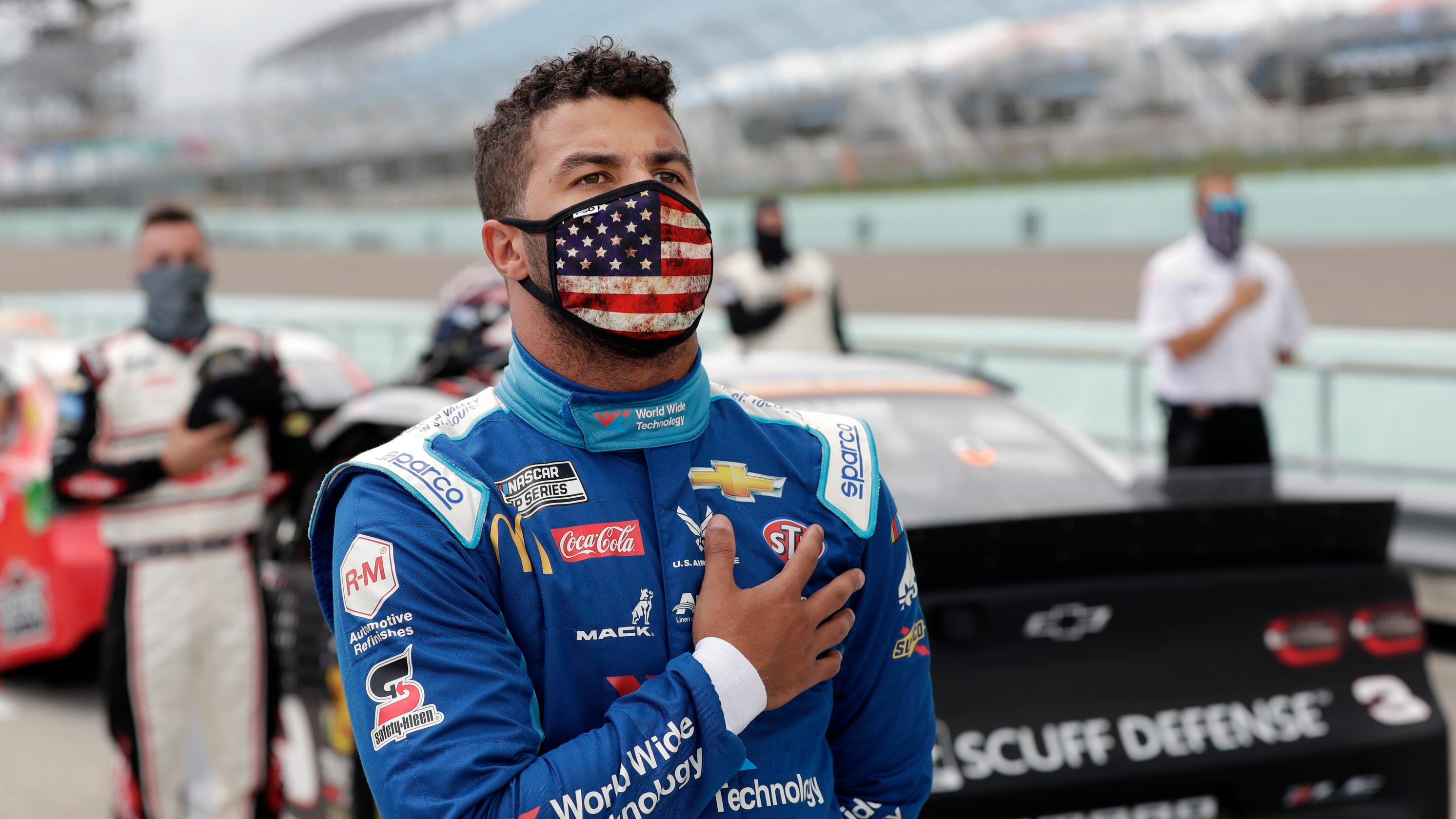 Noose in Bubba Wallace's garage strengthens resolve to fight racism