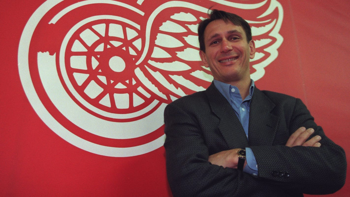 Red Wings' Ken Holland went from vacuums to Hockey Hall of Fame