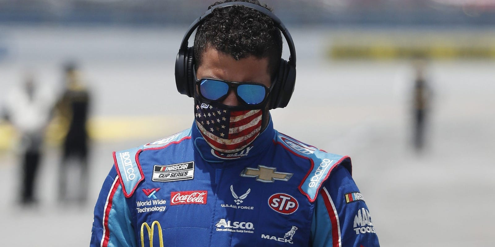 'Worn out' after Talladega, NASCAR noose incident