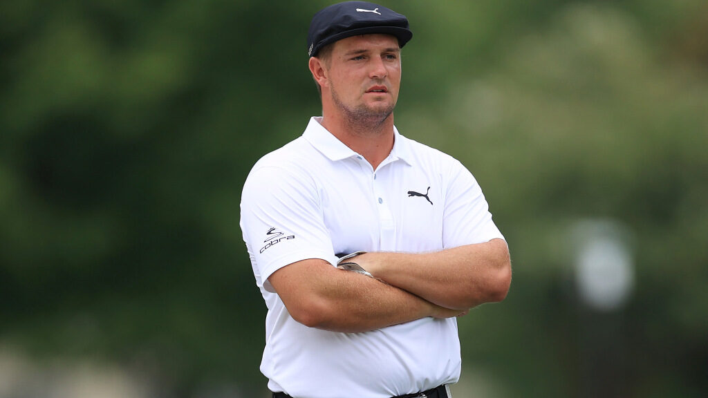 Bryson DeChambeau asked for ant hill relief during a PGA Tour event
