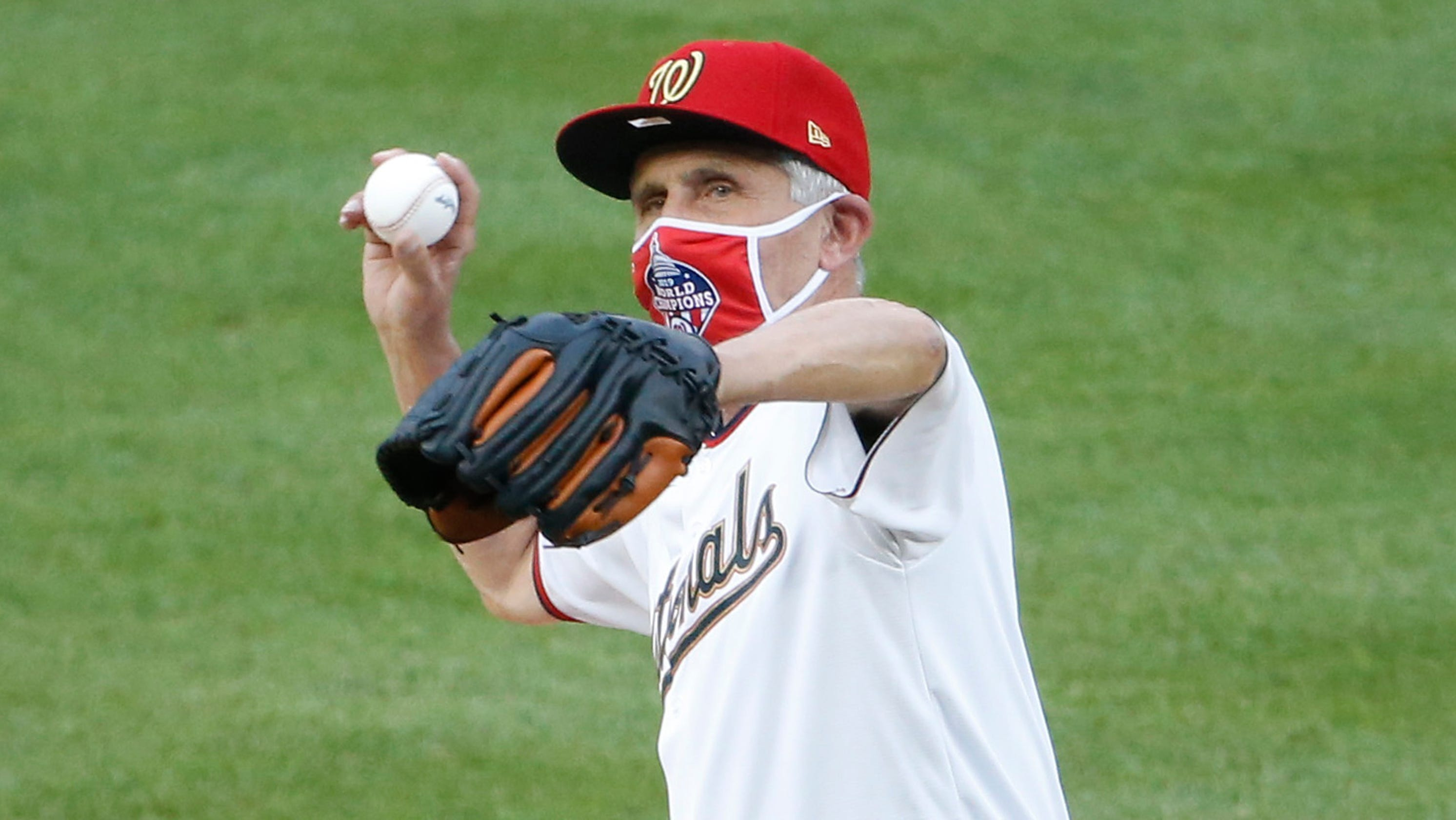 Dr. Anthony Fauci says first pitch was 'mishap,' Marlins outbreak