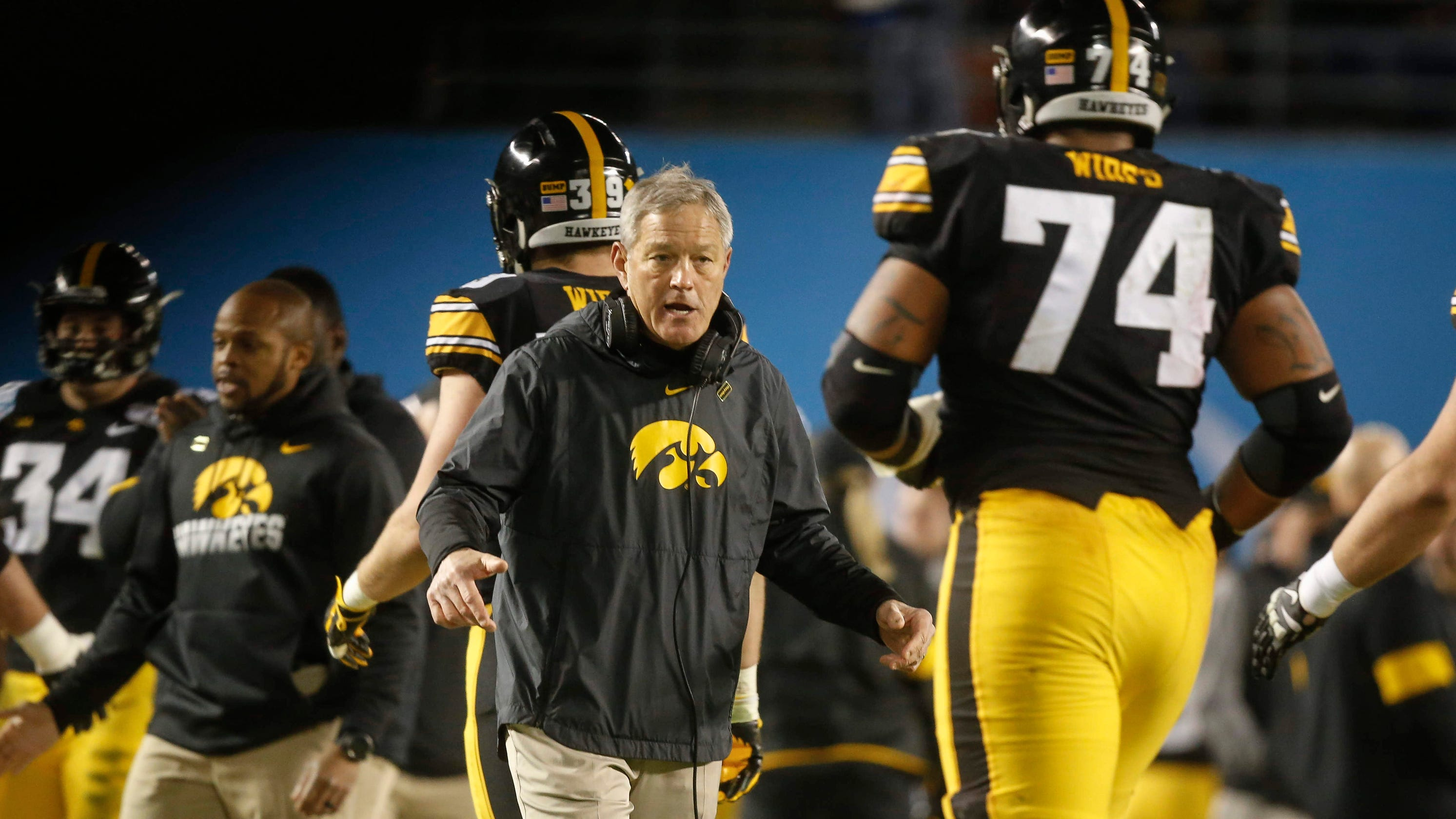 Iowa football review details racial bias, support for Kirk Ferentz
