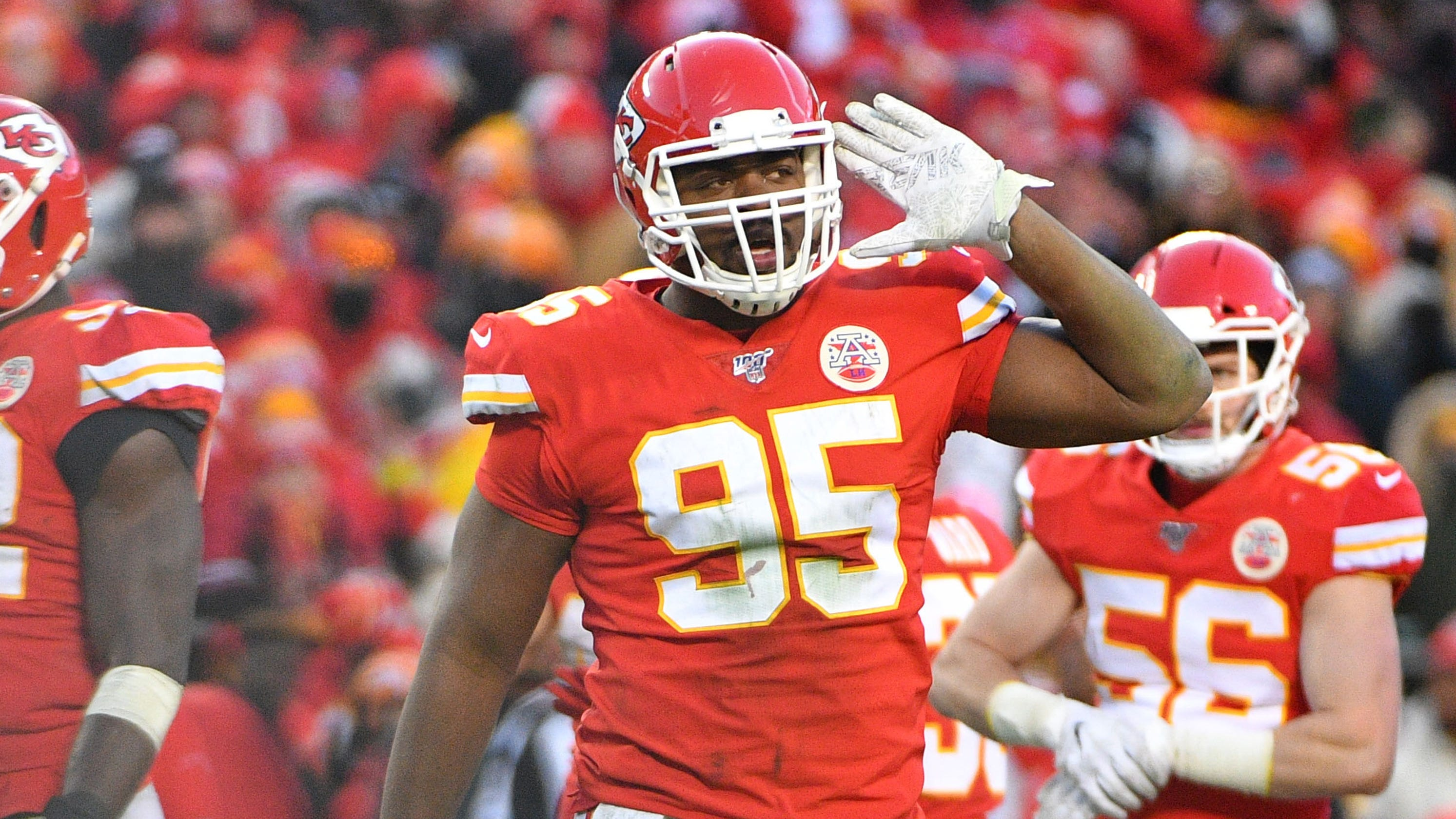 Kansas City Chiefs' Chris Jones says he 'won't play' without new long-term contract