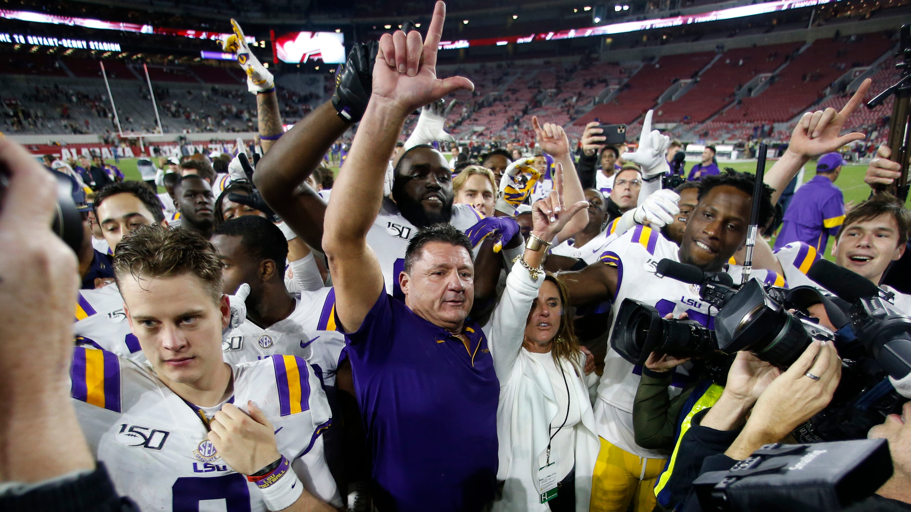 LSU football to add two SEC East teams to all-conference schedule