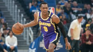 Lakers guard Rajon Rondo out for significant time after fracturing thumb in practice