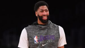 Lakers' Anthony Davis explains why he won't wear social justice message on jersey for NBA restart