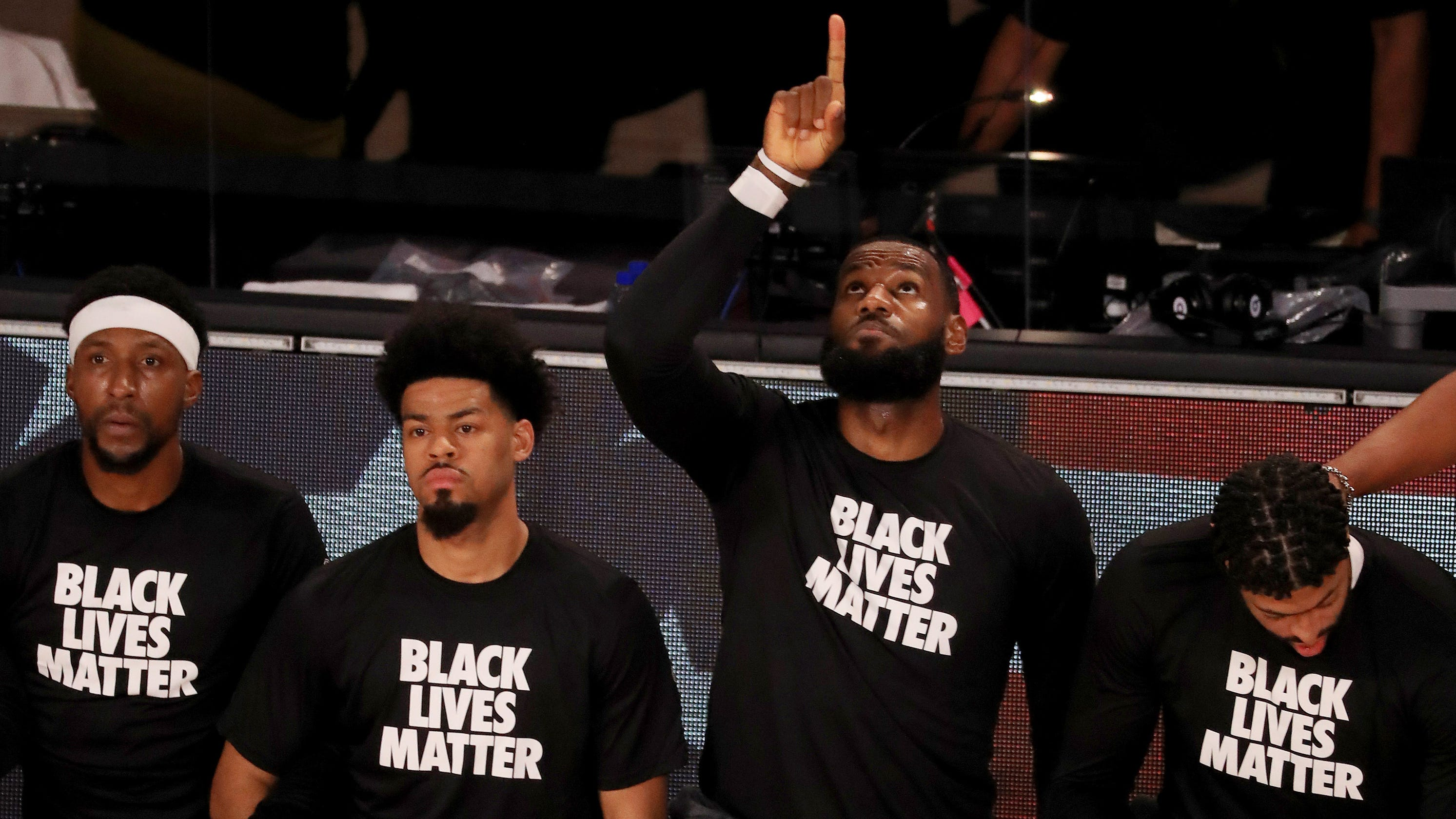 NBA players kneeling during national anthem doesn't feel defiant