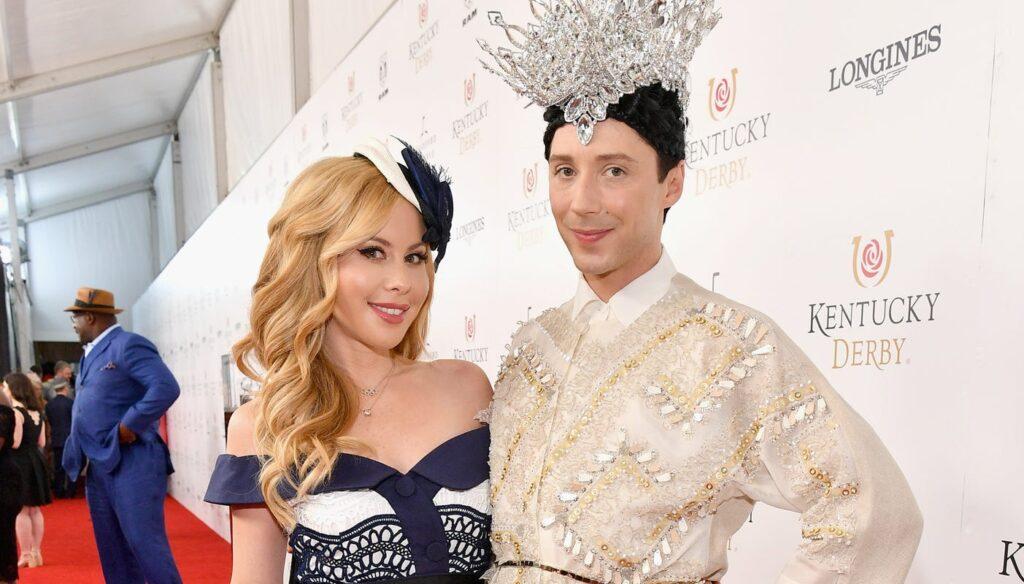 Tara Lipinski, Johnny Weir use vulgar term in spoof of Olympian