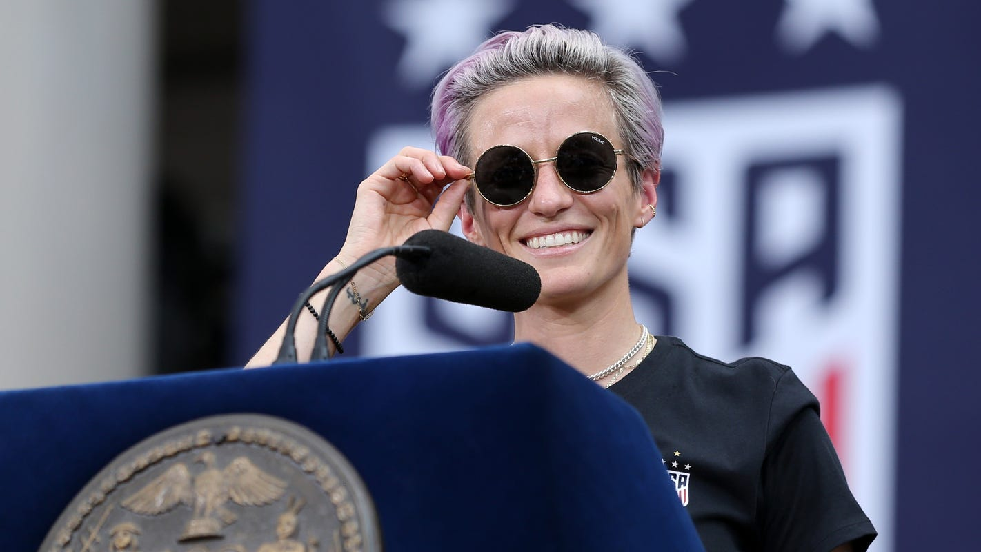 USWNT soccer star Megan Rapinoe narrates Nike ad that explores issues of race, gender, equality