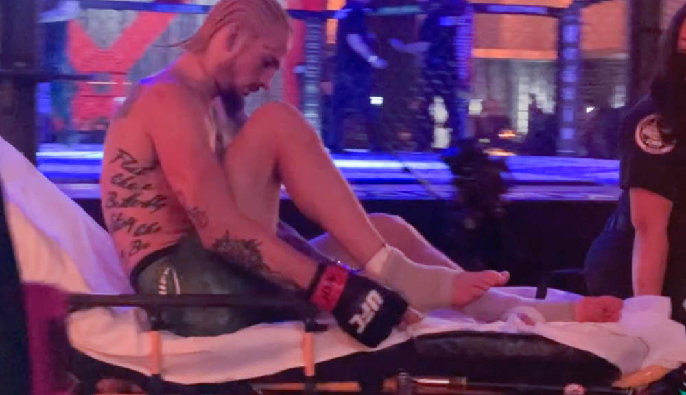 Sean O'Malley injured, carted off after loss to Marlon Vera