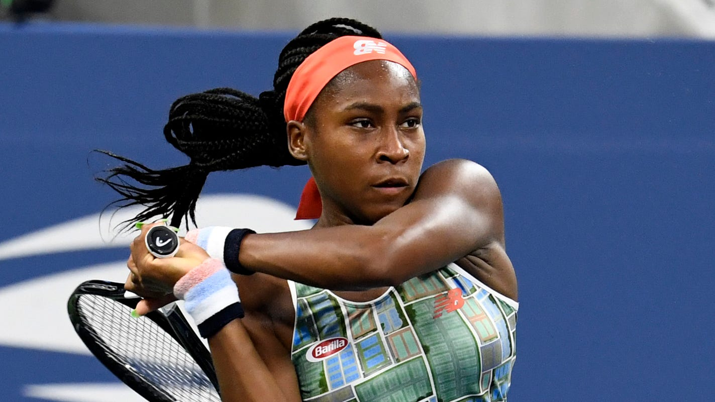 Coco Gauff eliminated in first round of U.S. Open as Grand Slam thrill ride ends