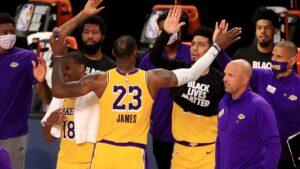 Lakers lead, Rockets surge, Suns surprise