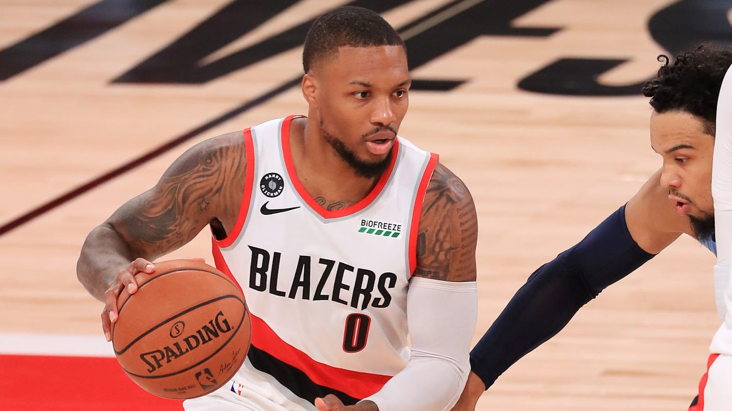 Lillard's belief in Blazers will carry them to West's No. 8 seed