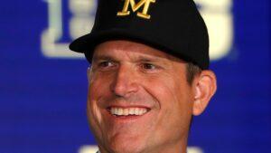 Michigan coach Jim Harbaugh snitches on Ohio State coach Ryan Day