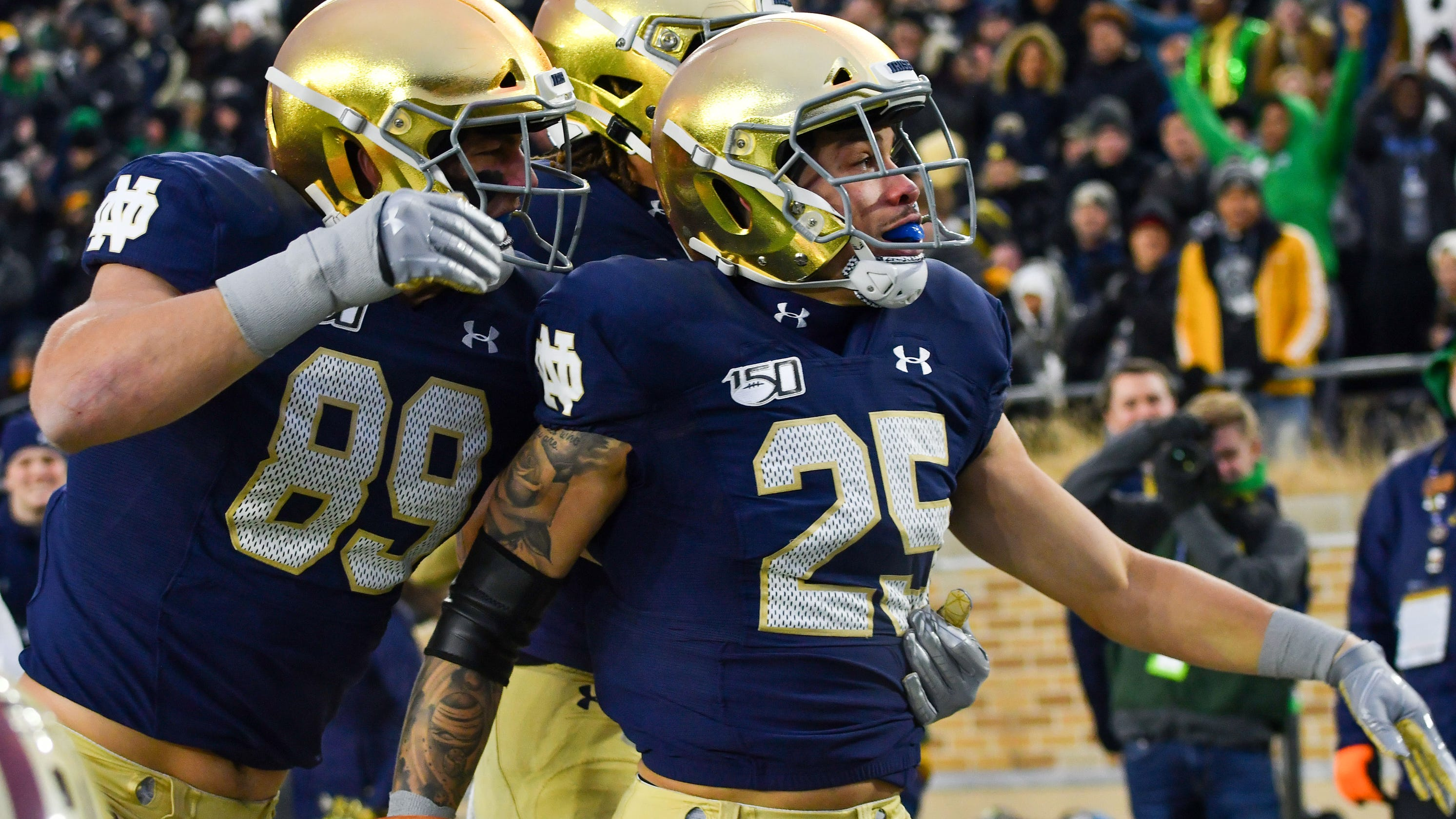 Notre Dame-Navy football game is off after 93 consecutive years
