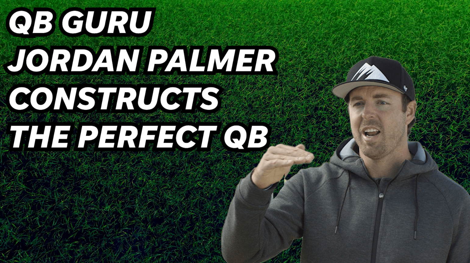 QB guru Jordan Palmer constructs the perfect 'Frankenstein' quarterback