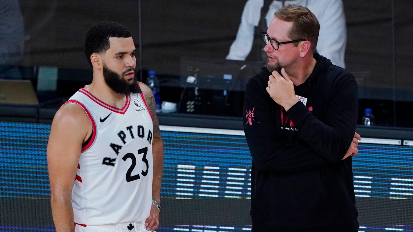 Raptors' Nick Nurse finding new ways to spend free time in bubble