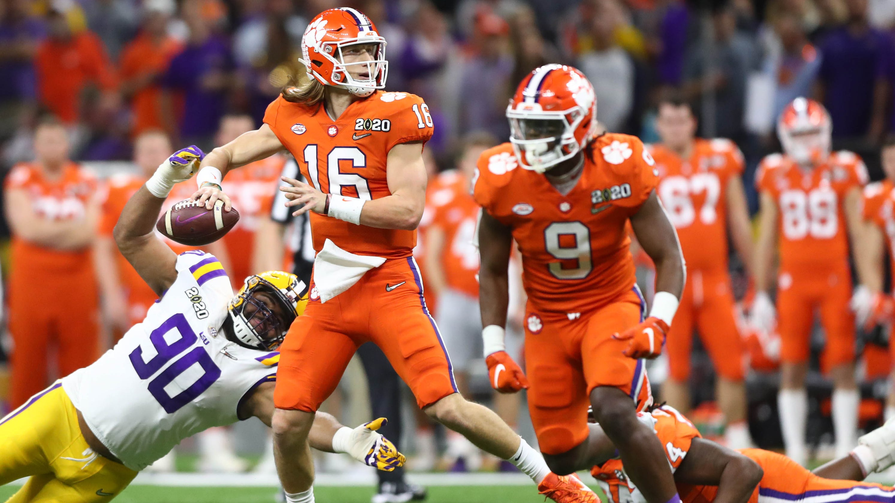 Trevor Lawrence wants Clemson season to finish differently