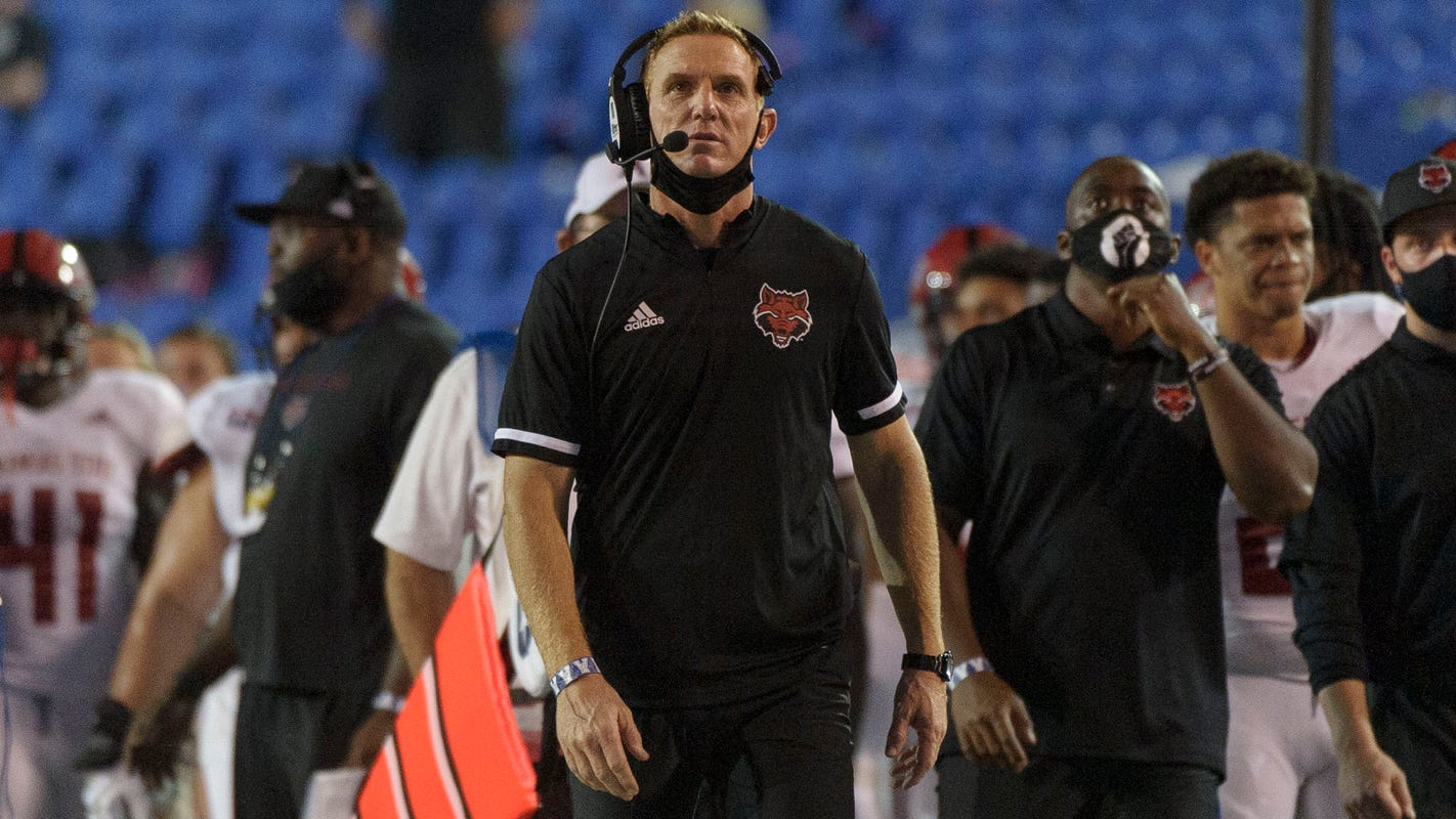 Arkansas State football coach had 10-day fever as he battled COVID-19