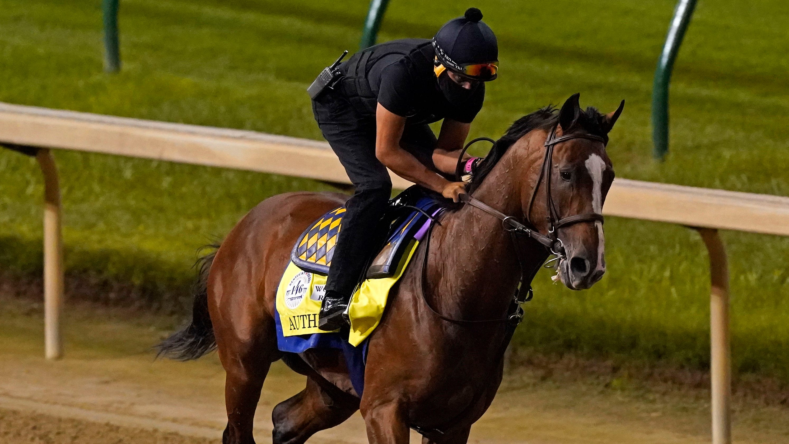Authentic wins the 146th Kentucky Derby ahead of favorite Tiz the Law