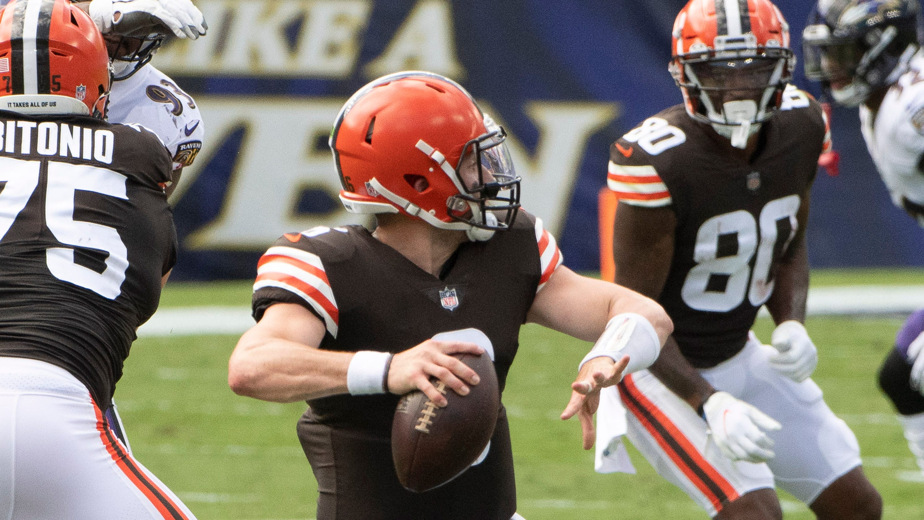 Baker Mayfield, Odell Beckham failing to connect for Cleveland Browns