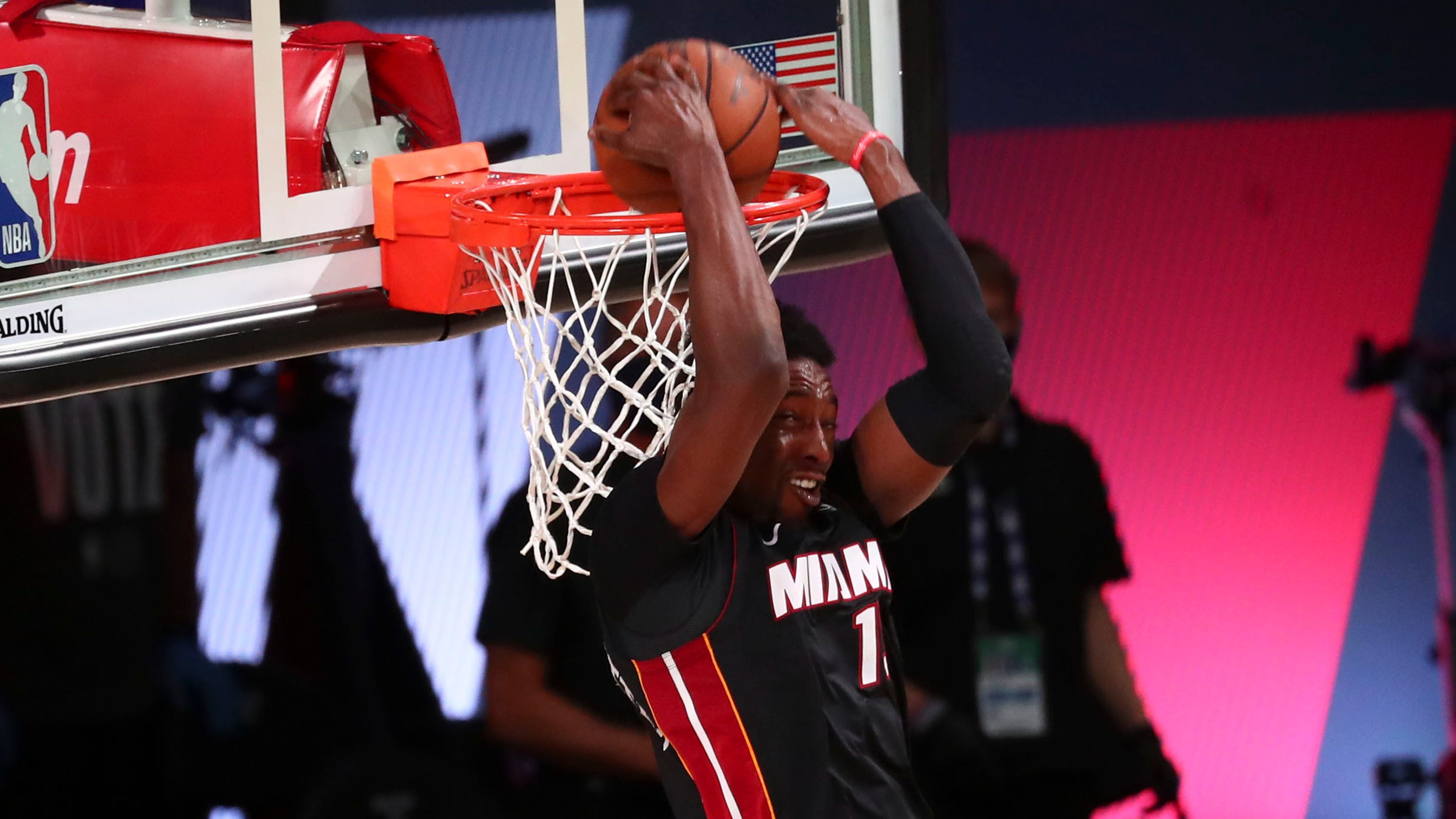 Bam Adebayo emerging as star after leading Miami Heat to NBA Finals