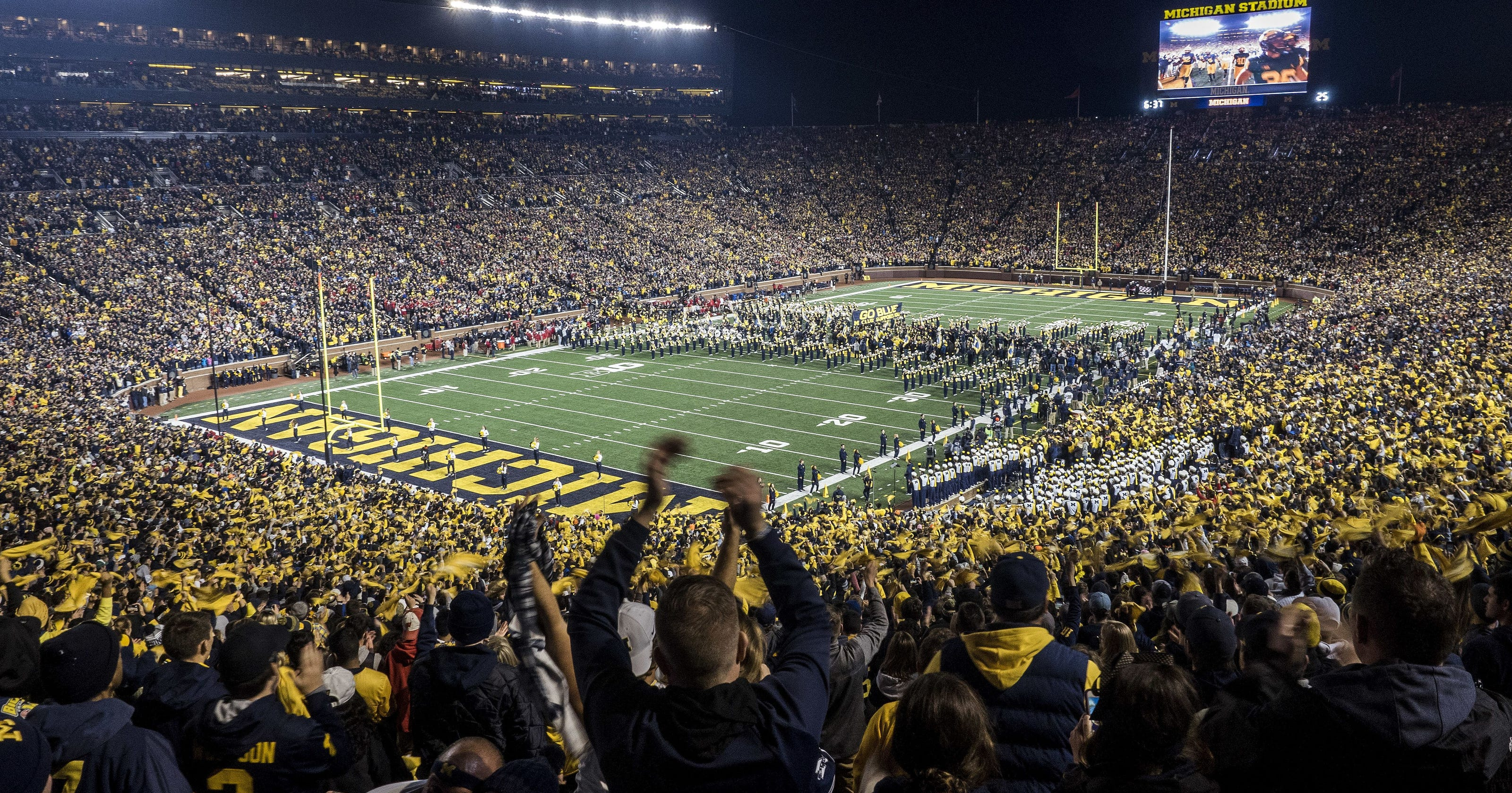 Big Ten football cheered by students but some question access to tests
