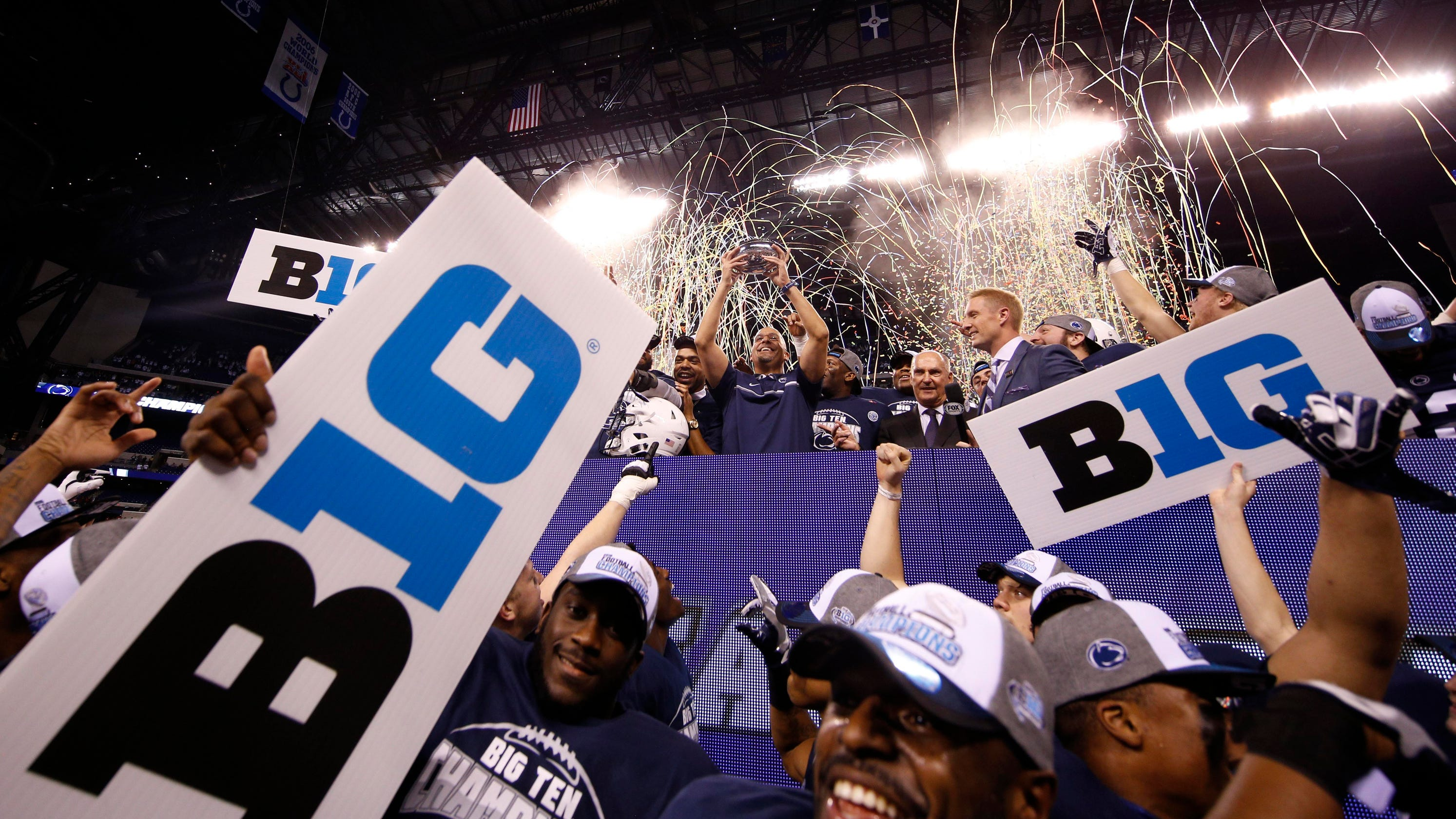 Big Ten got played by President Trump, and he's eager to celebrate