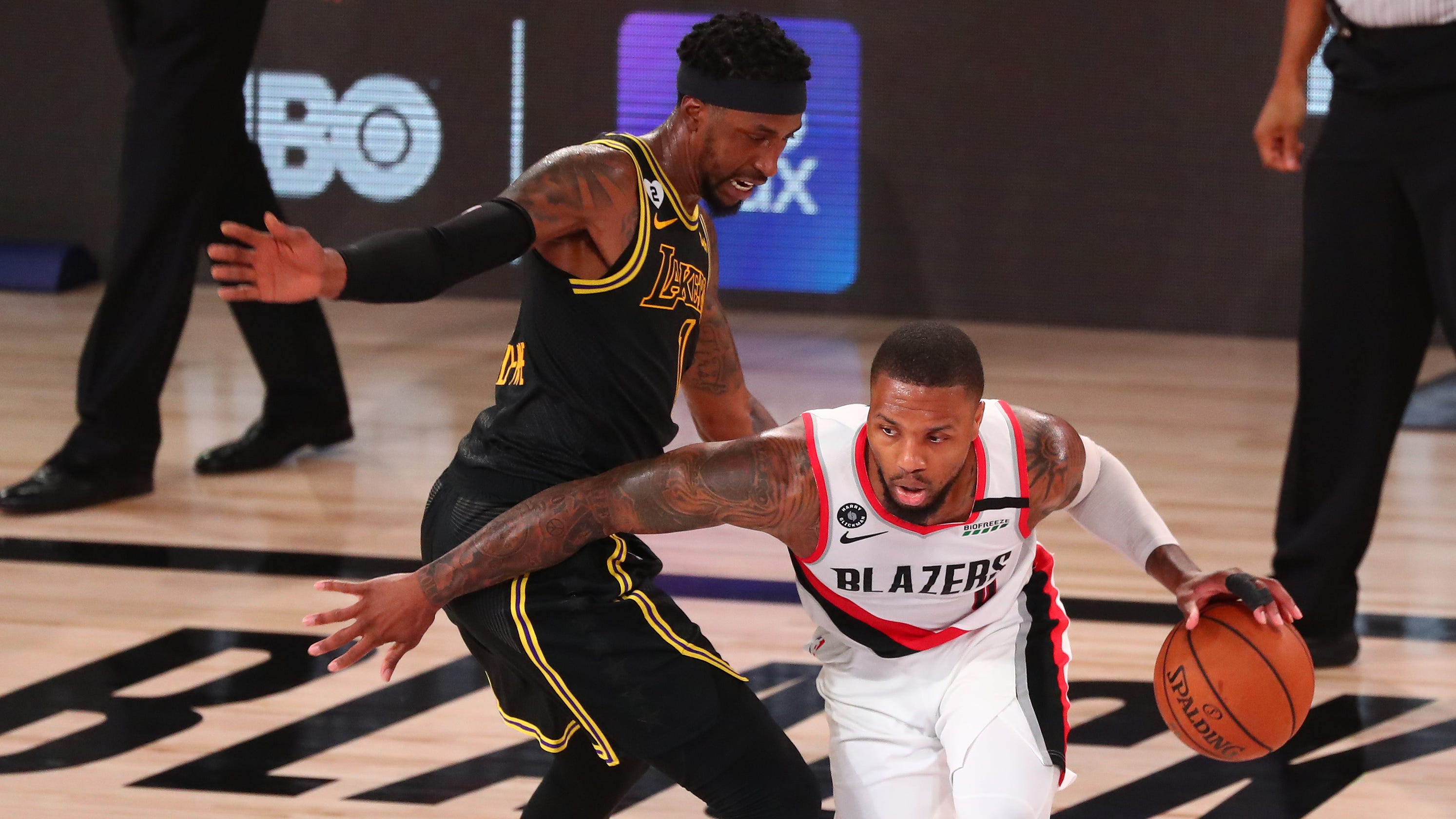 Blazers' Damian Lillard shows no mercy toward Patrick Beverley, Clippers after Game 7 loss
