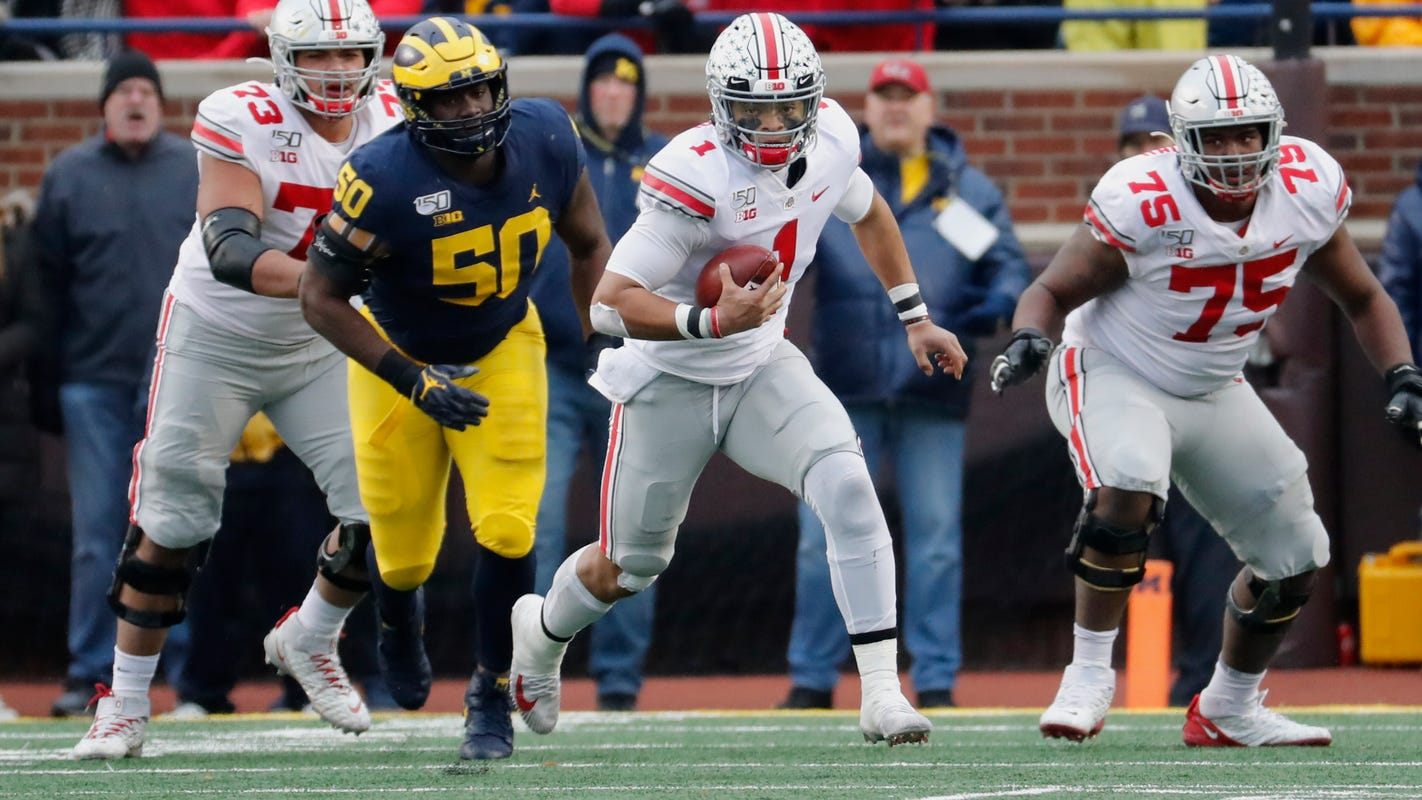 Bowl projections: Ohio State joins College Football Playoff field after Big Ten restarts