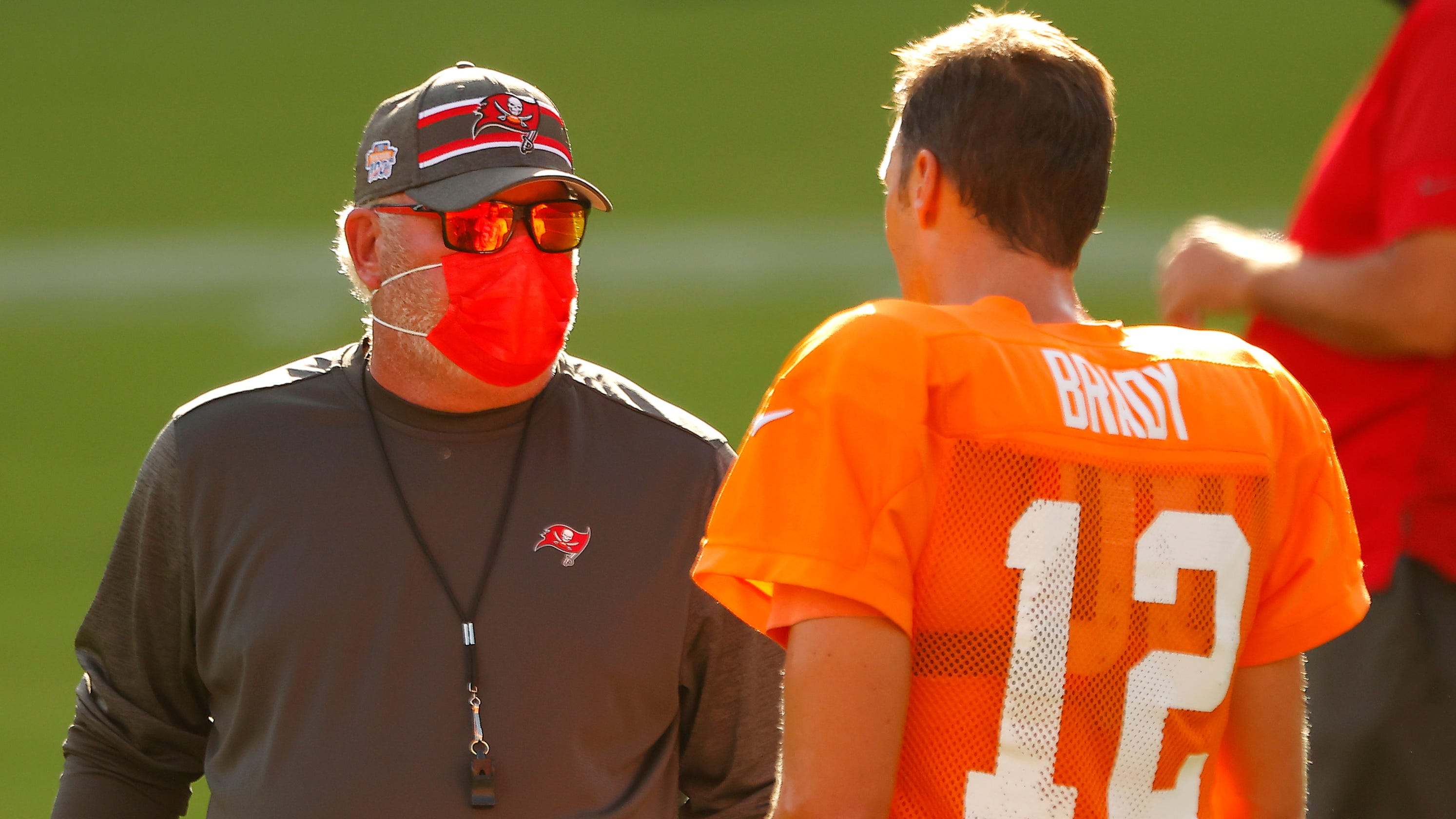 Bruce Arians says he, Tom Brady 'fine' after Bucs coach criticizes QB for Week 1 INTs